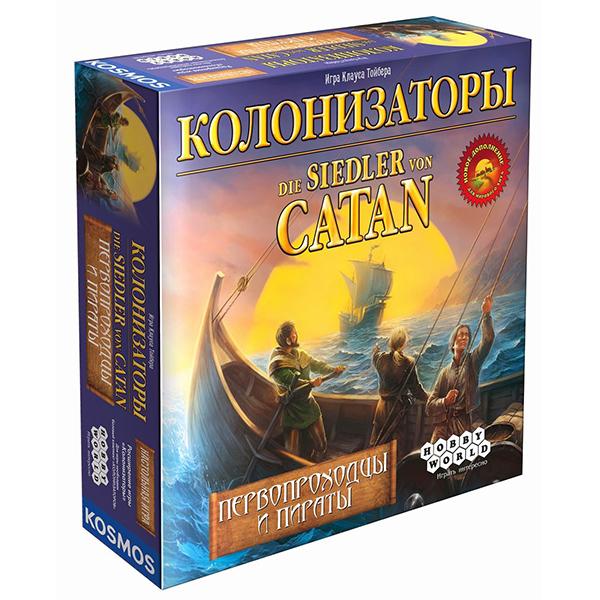 Колонизаторы. Первопроходцы и Пираты (дополнение)