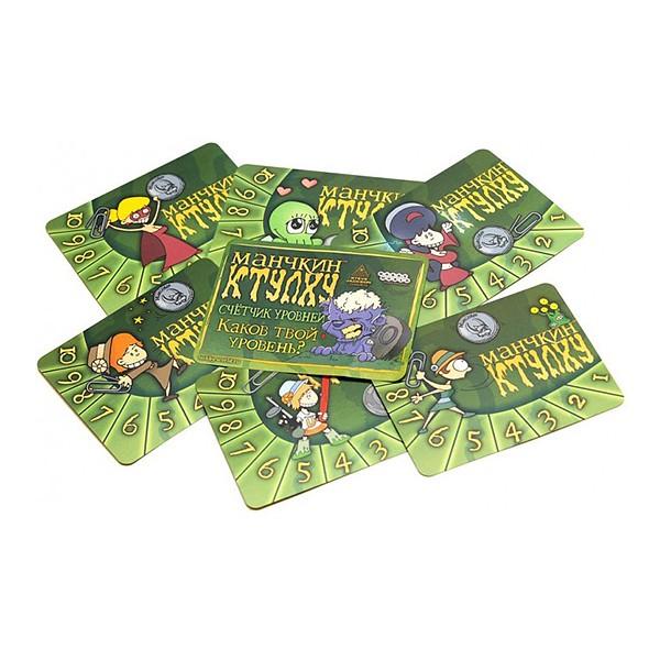 Набор счетчиков уровней «Манчкин Ктулху» зеленый