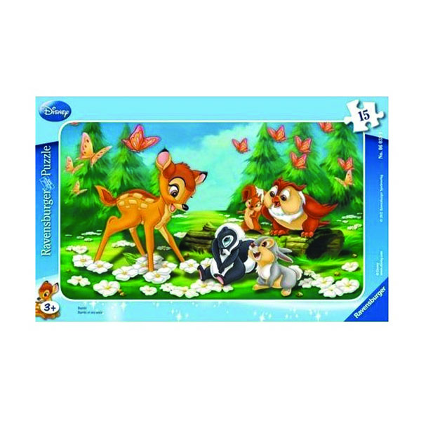 2D пазли Бембі (WD: Bambi) 2D пазли