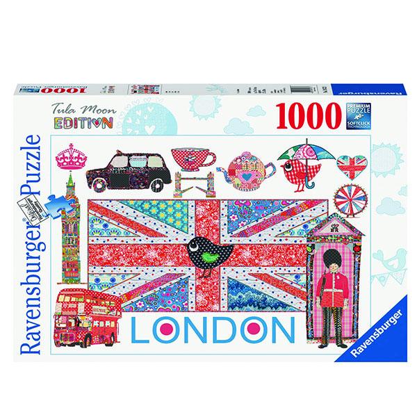 2D пазлы Лондон 1000 ч (London) 2D пазлы