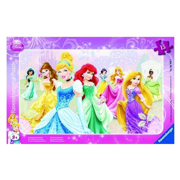 2D пазлы Принцессы Диснея 15 ч (DPR Disney Princess) 2D пазлы