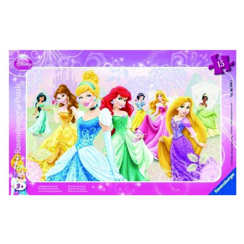 2D пазли Принцеси Діснея 15 ч (DPR Disney Princess) 2D пазли