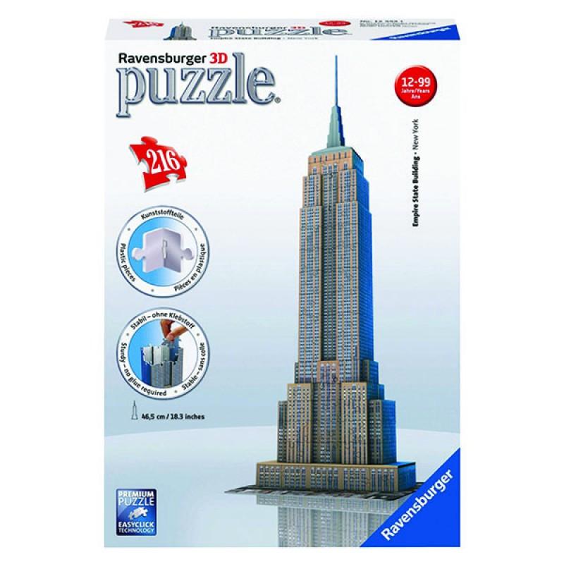 3D пазлы Емпайр-Стейт-Билдинг 216 ч (Empire State Building) 3D пазлы