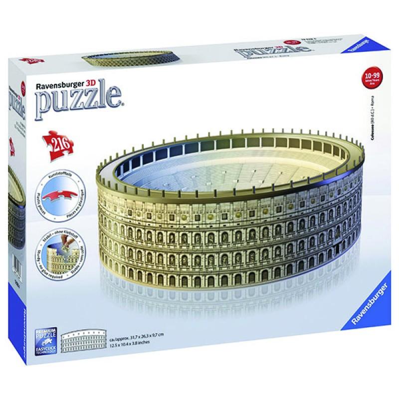 3D пазлы Колизей 216 ч (The Colosseum) 3D пазлы