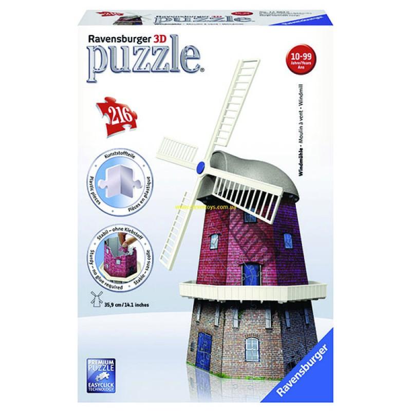3D пазлы Мельница 216 ч (Windmill) 3D пазлы