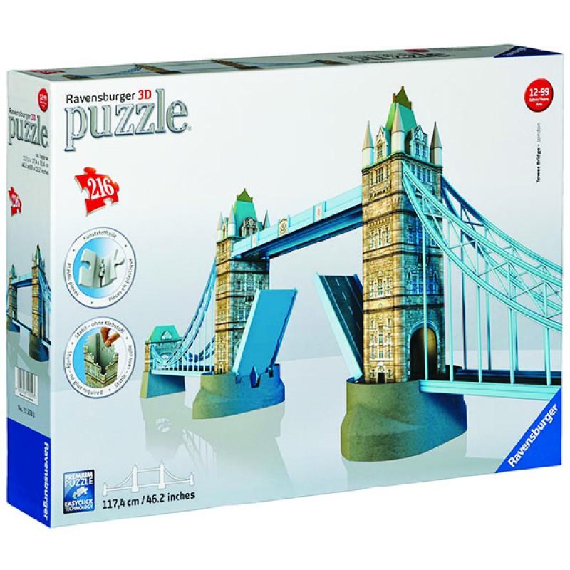 3D пазлы Тауэрский мост 216 ч (Tower Bridge) 3D пазлы