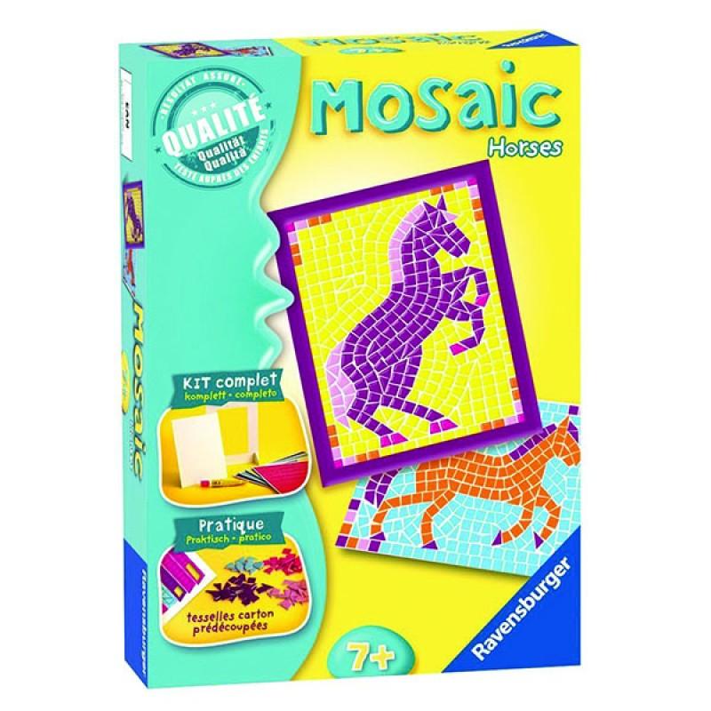 Набір для пазлів Коники (Mosaic Horses) Мозаїка
