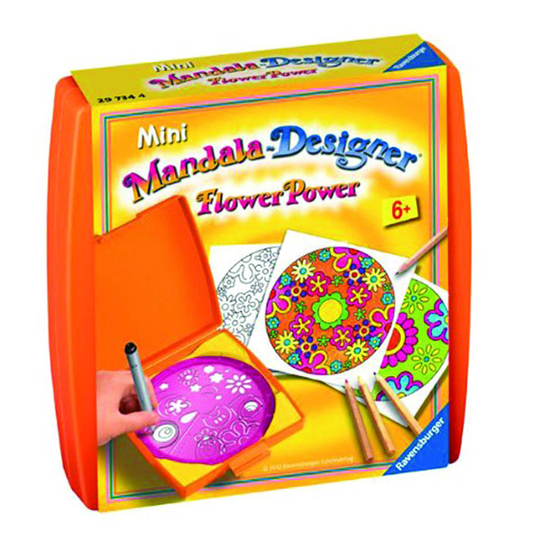 Набір для пазлів Міні Мандала. Сила Квітів (Mini Mandala Flower Power) Набір для рукоділля