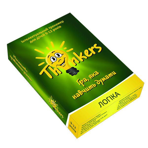 Thinkers 9-12 лет - Логіка (укр.)
