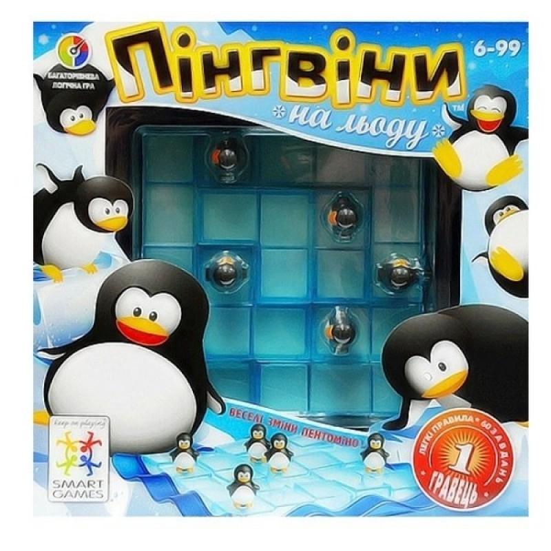 Пінгвіни на льоду