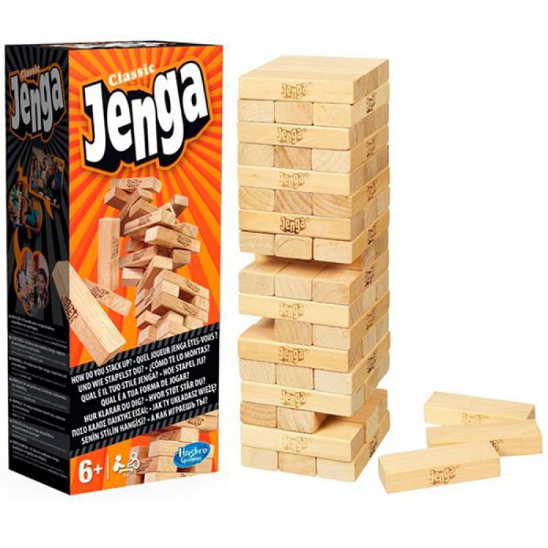 Дженга (Jenga) (оновлена упаковка)
