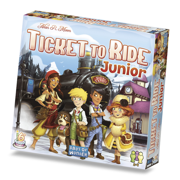 Ticket To Ride Junior Европа (Тикет Ту Райд Джуниор)